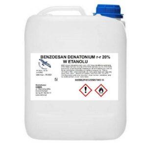 Skażalnik - benzoesan denatonium 20% roztwór w etanolu