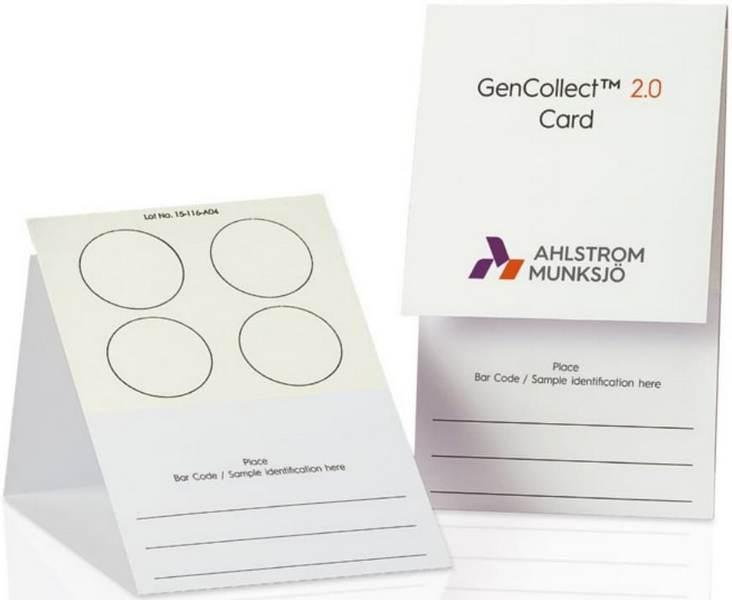 karty do przechowywania DNA