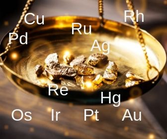związki metali szlachetnych