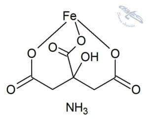 amonu żelaza(III) cytrynian