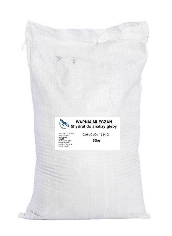wapnia mleczan do analizy gleby