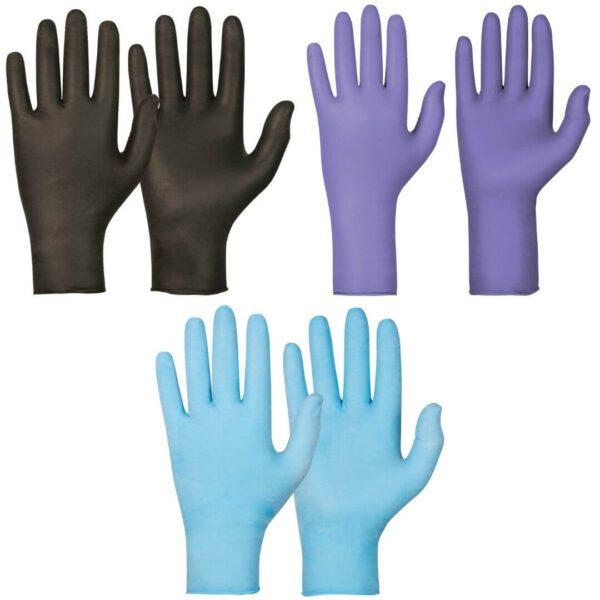 rękawice nitrylowe do zastosowań chemicznych